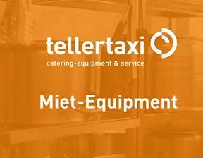 tellertaxi Miet-Equipment
